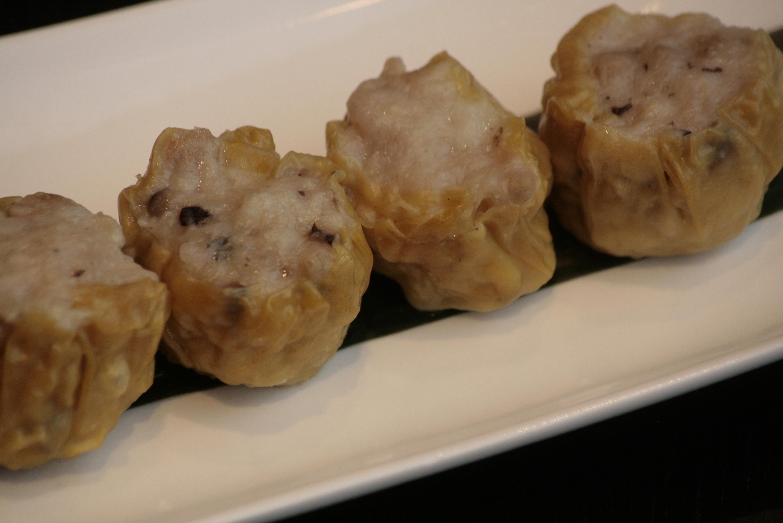 C2 Siu Mai Gestoomde pasteitjes van varkensvlees en Chinese champignons.