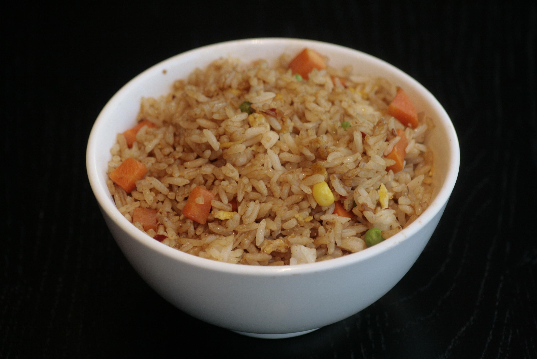 H5 Chao Fan Vegetarische gebakken rijst.