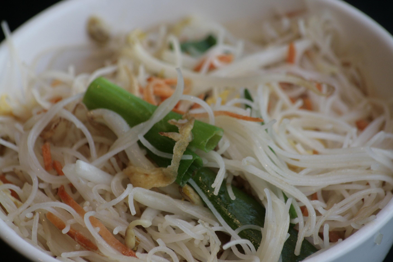 H7 Chao Mifen Vegetarische gebakken rijstvermicelli.